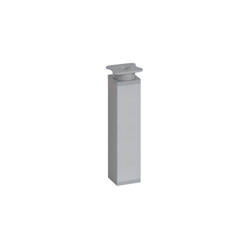 Nóżka meblowa wysokość 15cm, kwadratowa 40x40 mm, aluminium