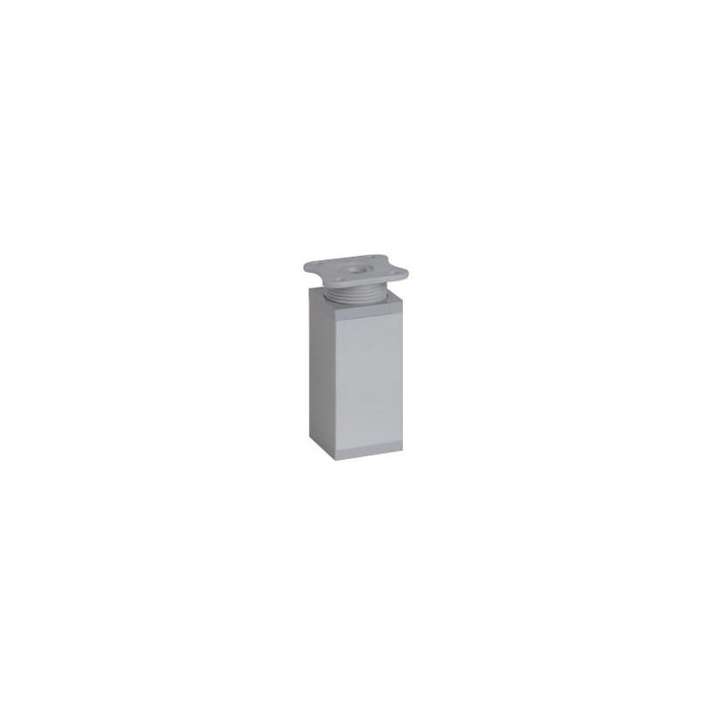 Nóżka meblowa wysokość 10cm, kwadratowa 40x40 mm, aluminium