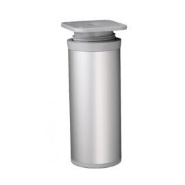 Nóżka meblowa wysokość 10cm, okrągła fi-40mm, aluminium