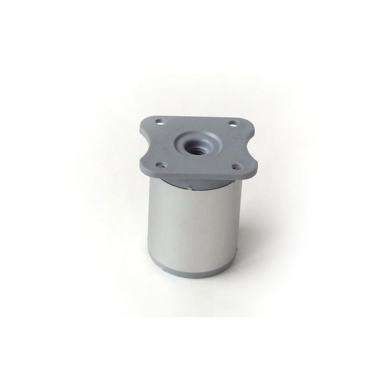 Nóżka meblowa wysokość 6 cm, okrągła fi-40mm, aluminium