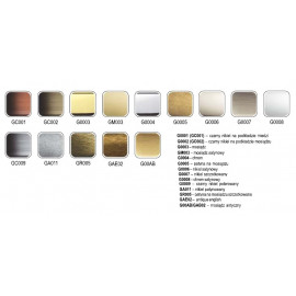 Uchwyt meblowy Gamet UN 45-0096-G0007 inox