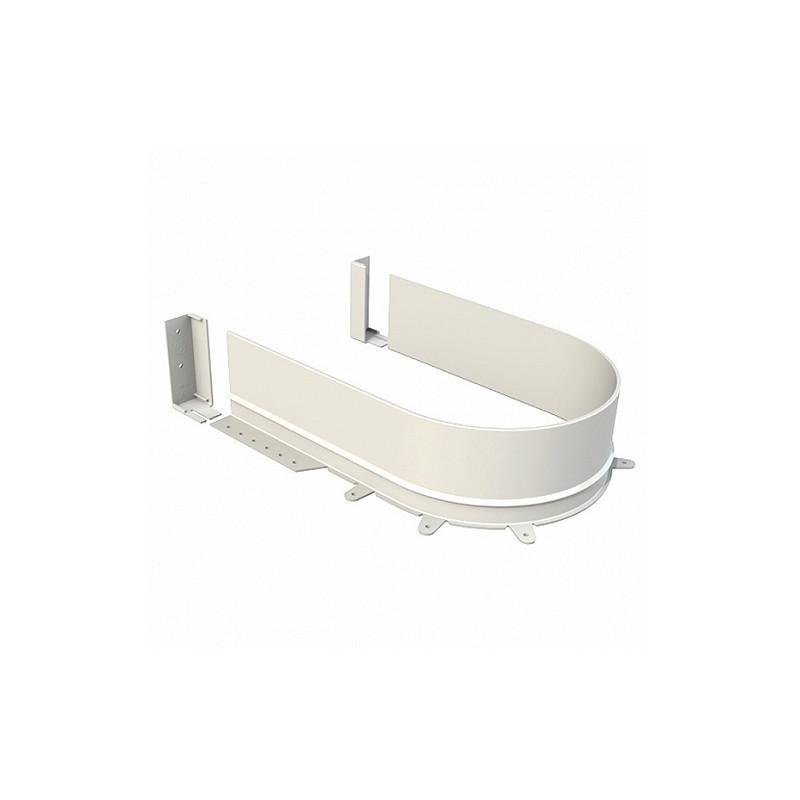 Osłona syfonu Volpato 16 mm biała