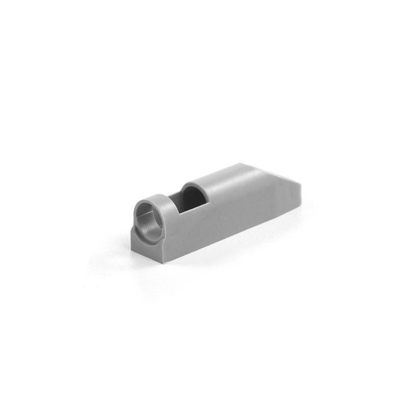 Adapter amortyzatora P-M popiel RAL 9006