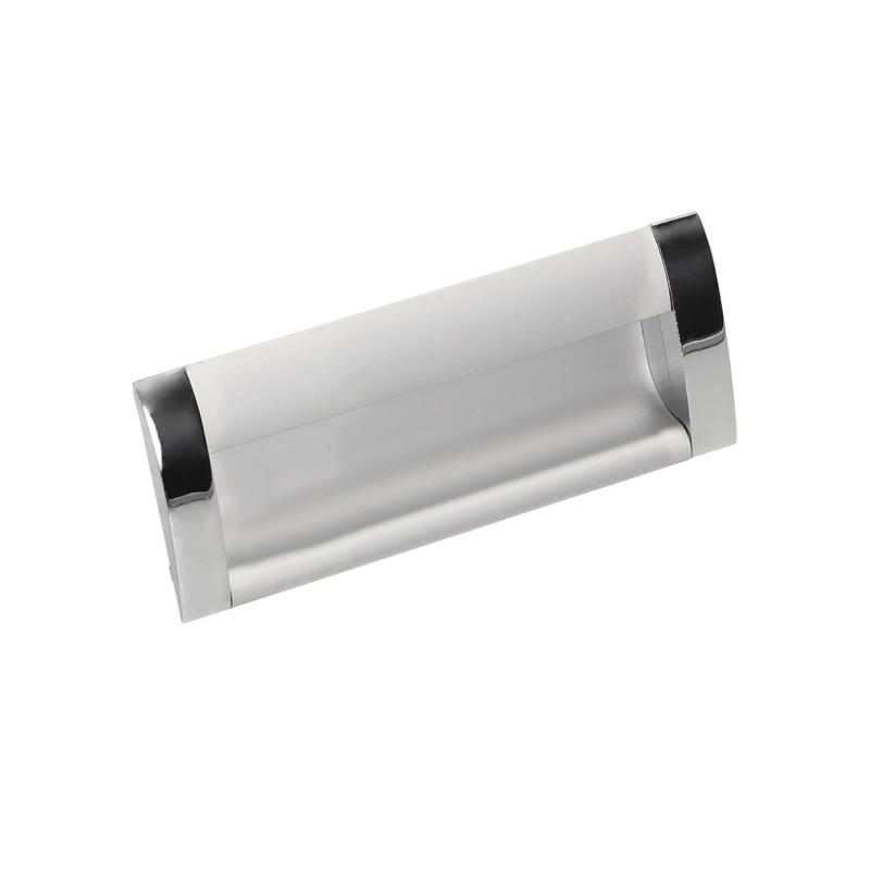 Uchwyt meblowy Gamet UA 08-096-A0C00-G0004 aluminium+chrom