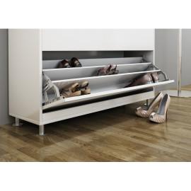 Hafele półka na buty 3 częściowa aluminium 892.14.253