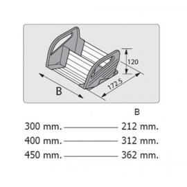 BLUM ORGA-LINE uchwyt na przyprawy ZFZ.30G0I szary, od szerokości korp. 300mm