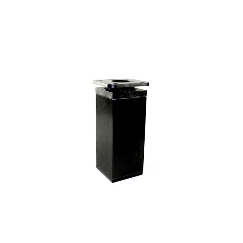 Nóżka meblowa wysokość 10cm, kwadratowa 40x40 mm, czarna