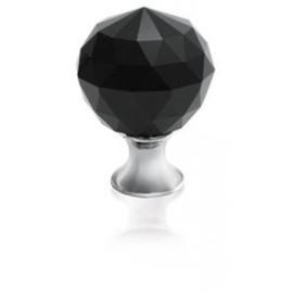 Gałka meblowa Gtv GZ CRPA-25-A1 chrom+czarny kryształ