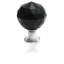 Gałka Gtv GZ CRPA-25-A1 chrom+czarny kryształ