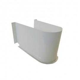 Osłona syfonu COVER 310 x 199 biała