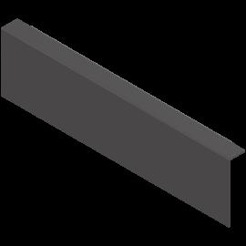 BLUM AMBIA-LINE adapter do montażu ramy do drew. śc. tylnej ZC7A0U0M czarny, wysokość M