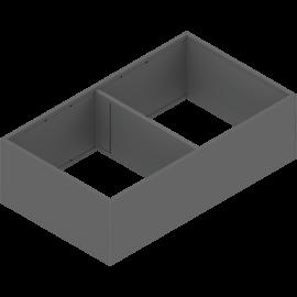 BLUM AMBIA-LINE rama do szuflad legrabox C/F ZC7F400RSP antracyt, szerokość 218mm, dł. 400mm
