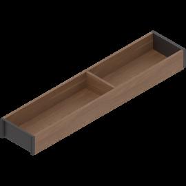 BLUM AMBIA-LINE rama do szuflad legrabox M/K ZC7S500RH1 orzech tenn., szerokość 100mm, dł. 500mm