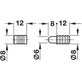 OKUCIA STOŁU H kołek prowadzący B  642.51.241