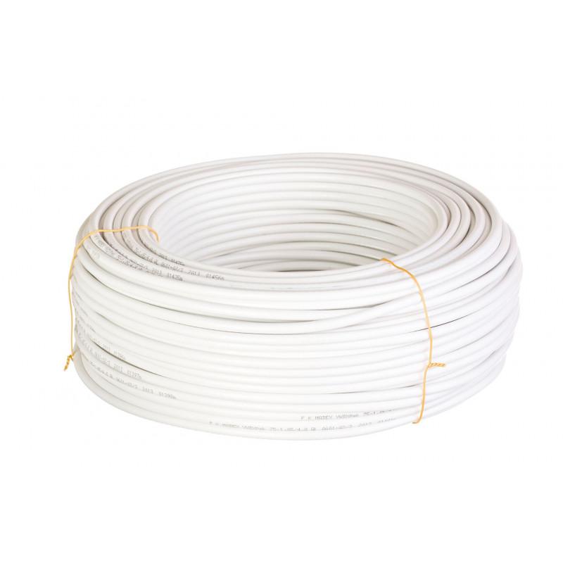 Przewód przyłączeniowy 300V x 0,5 mm2 biały