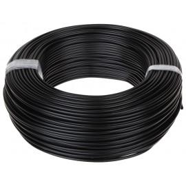 Przewód przyłączeniowy 300V x 1,0 mm2 czarny