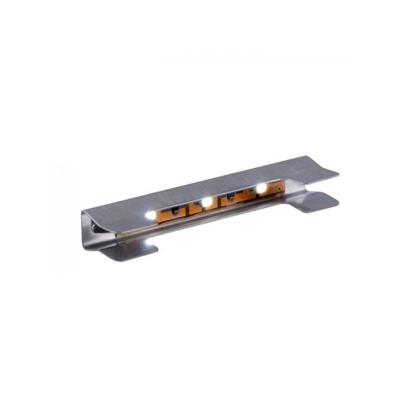 Klips LED 3 pkt. niebieski luz