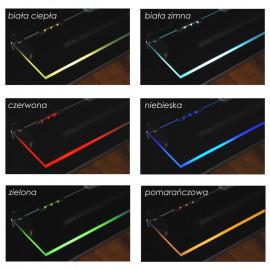 Klips LED 3 pkt. czerwony luz