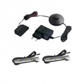 Zestaw klipsów LED-II PRIMASTIC CZERWONY