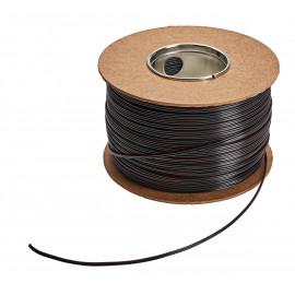 Przewód do led 2x0,35 mm2 czarny (op.100 m)