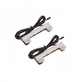 Zestaw klipsów LED-II PRIMASTIC POMARAŃCZOWY