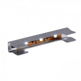 Klips LED 3 pkt. pomarańcz luz