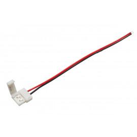 LED pasek złączka 8mm, pasek-przewód