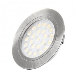 LED OPRAWA OVAL szlif 2W biała zimna