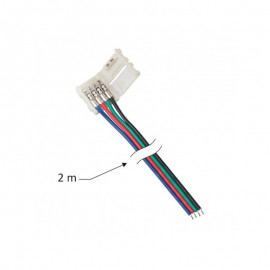 LED pasek złączka RGB 10mm, pasek-przewód