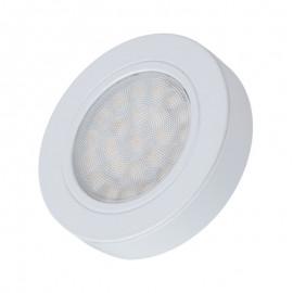 LED OPRAWA OVAL z dystansem biała 2W biała zimna