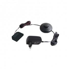 Zasilacz LED wtykowy z wyłącznikiem nożnym i rozdzielaczem 16W