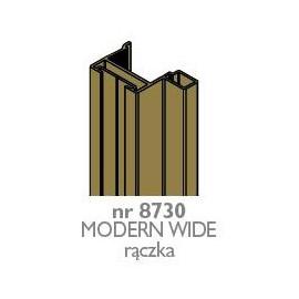 Rączka MODERN WIDE czarny mat  nr 8737