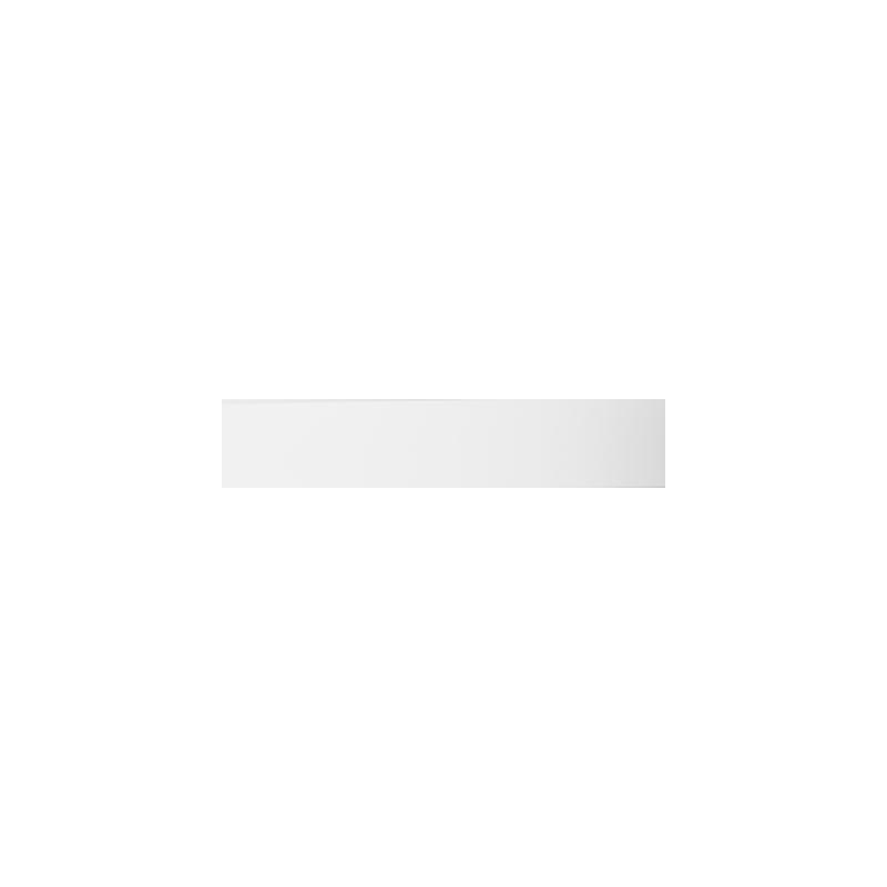 Obrzeże papierowe z klejem Białe gładkie nr 1a