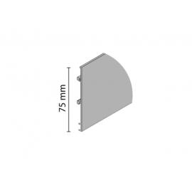 Maskownica do szyny K-075 nr 1190 anodowana