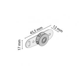 Okucie ramkowe fasolka MINI CABINET W0-6  nr 0006