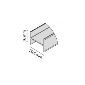 Łącznik DOMUS czarny              8186   3m