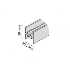 Profil łączący RAMA nr. 8876 czarny połysk