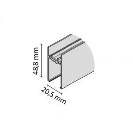 Ramiak poziomy RAMA czarny połysk  nr 8836