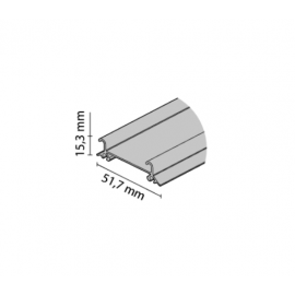 Tor dolny GAMA nr. 82092 biały mat