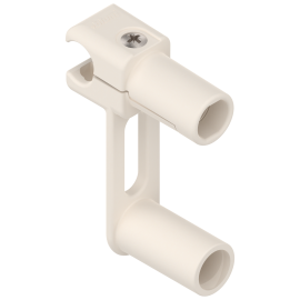 BLUM ORGA-LINE uchwyt relingu poprzecznego szuflady tackowej ZRU.00Z0.01* biały