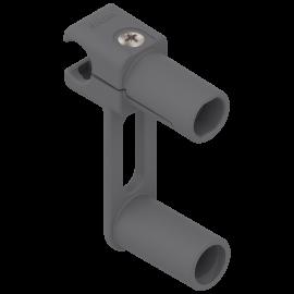 BLUM ORGA-LINE uchwyt relingu poprzecznego szuflady tackowej ZRU.00Z0.01*  szary
