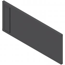 BLUM AMBIA-LINE listwa poprzeczna do szuflady z wysokim frontem legrabox ZC7Q0U0FS czarna