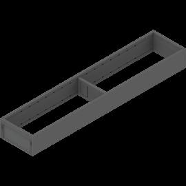 BLUM AMBIA-LINE rama do szuflad legrabox M/K ZC7S500RS1 antracyt, szerokość 100mm, dł. 500mm