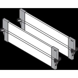 BLUM ORGA-LINE zestaw listew poprzecznych do szuflad intivo ZFL.40BUS6 czarny*