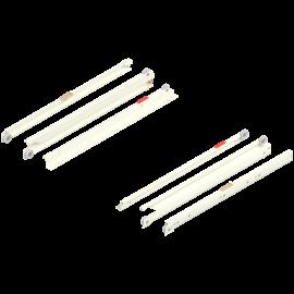BLUM prowadnica rolkowa standard, pełen wysuw 430E3500V kremowo-biała, dł. 350mm*