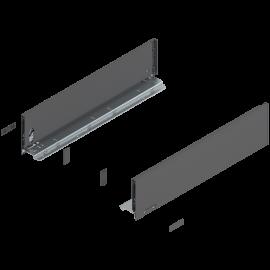 Bok szuflady legrabox wys. K, dł. 500mm, antracyt 770K5002S lewy/prawy