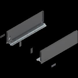 Bok szuflady Legrabox wys. K, dł. 450mm, antracyt 770K4502S lewy/prawy
